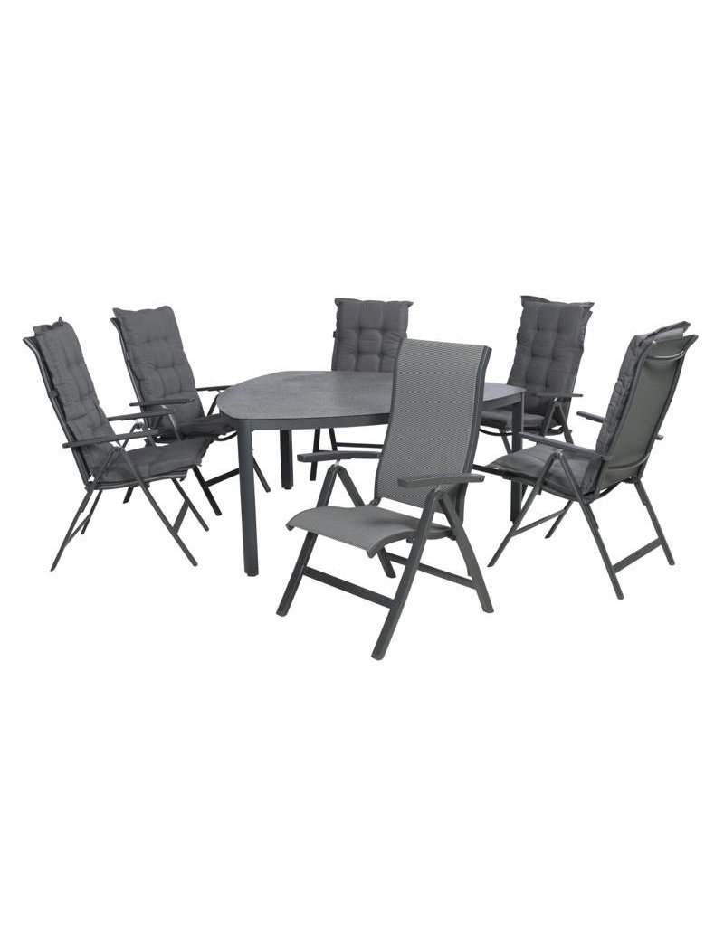 Garden Deals Roma/Triangle Diningset