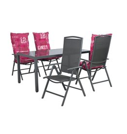 Garden Deals Cobra Dining set 160X96 cm.