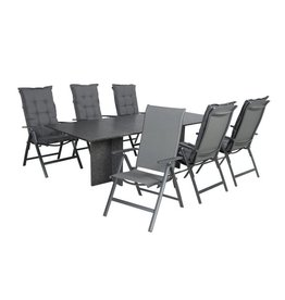 Garden Deals Cobra/Tonsberg Dining set 240X100 cm.