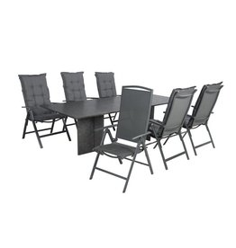 Garden Deals Rocky/Tonsberg Dining set 240X100