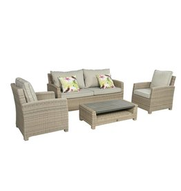 B7 Down Under Birdwood sofa Loungeset 4-delig