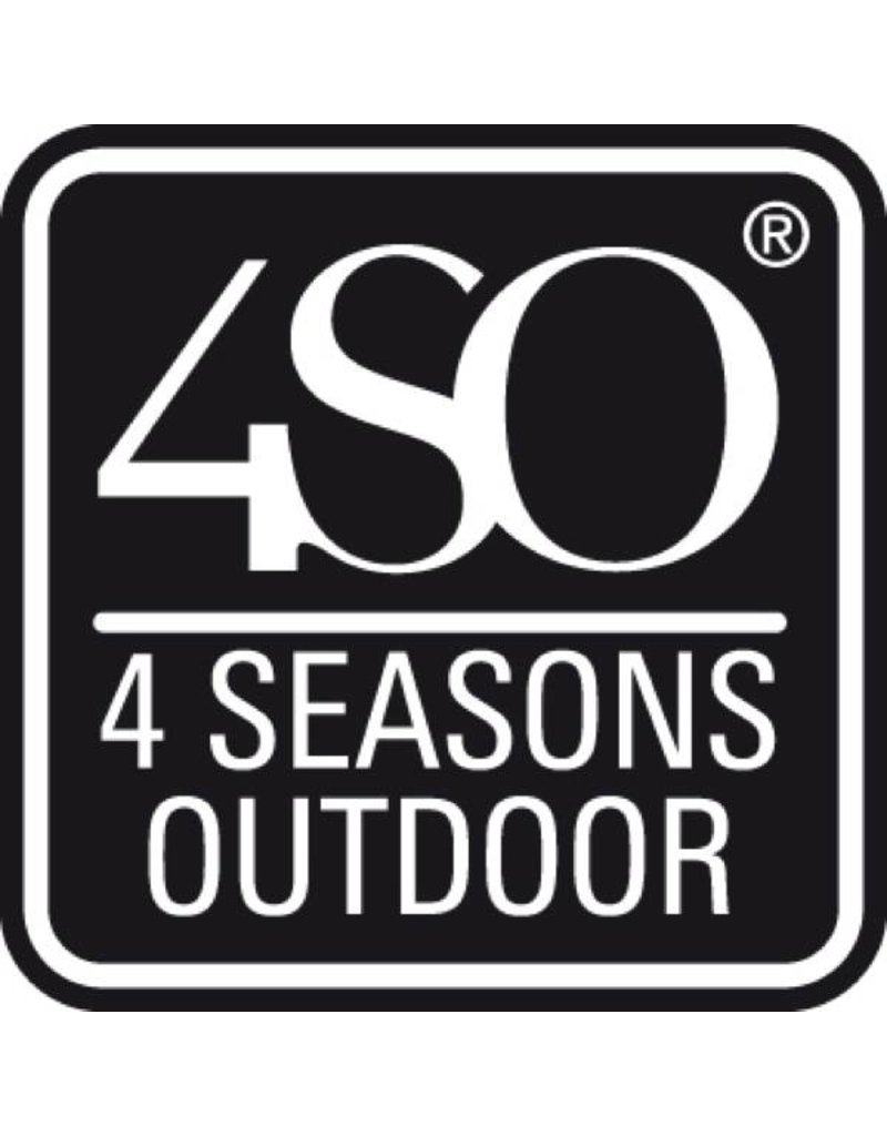 4 Seasons Outdoor Loungeset Indigo in Ice wicker