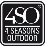 4 Seasons Outdoor 4 Seasons Outdoor loungeset Edge in Ice wicker
