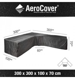 Areo Cover Beschermhoes L-shape/trapeze 300X300X100XH70