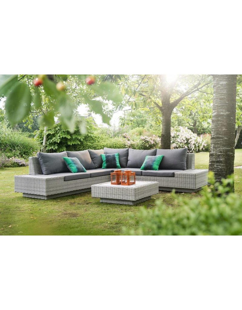 Garden Deals Jepara loungeset 4-delig sunlight