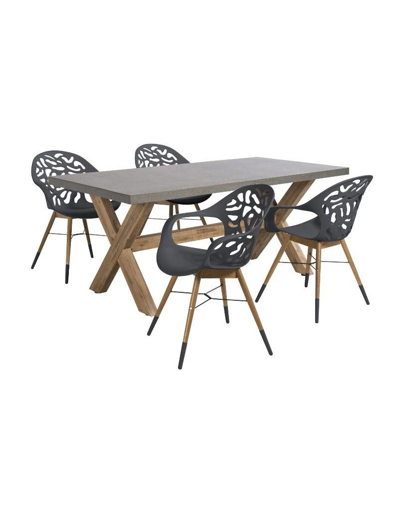 Beach7 Coral Reef Diningset 180x100cm