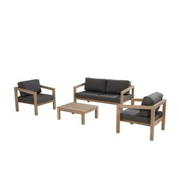4 Seasons Outdoor Evora Loungeset sofa opstelling