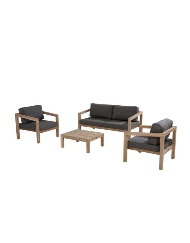 4 Seasons Outdoor Evora Loungeset sofa opstelling
