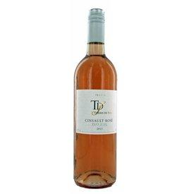 Terres de Feu Cinsault Rosé, 2016, Languedoc-Roussillon, Frankrijk, Rosé Wijn