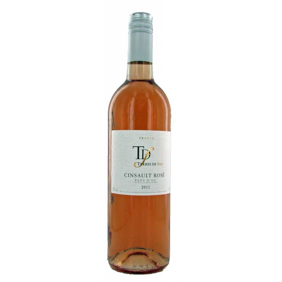 Terres de Feu, Cinsault Rosé, 2017, Languedoc-Roussillon, Frankrijk, Rosé Wijn