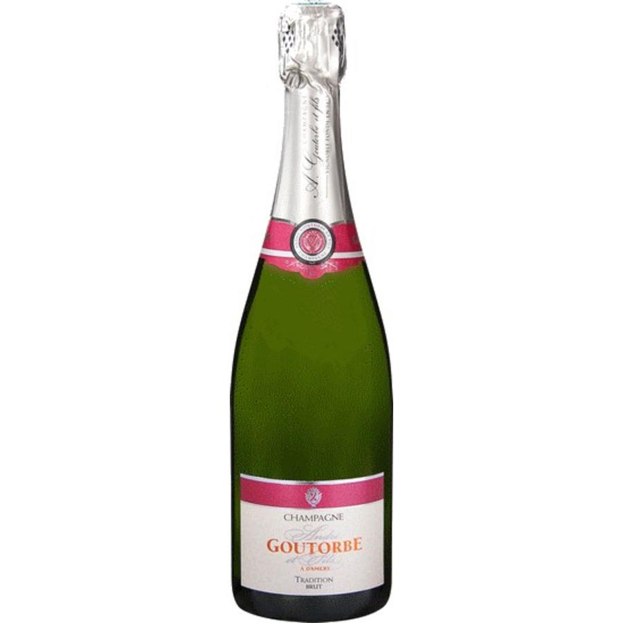 André Goutorbe, Brut Tradition 375ml, Champagne, Frankrijk, Mousserende Wijn