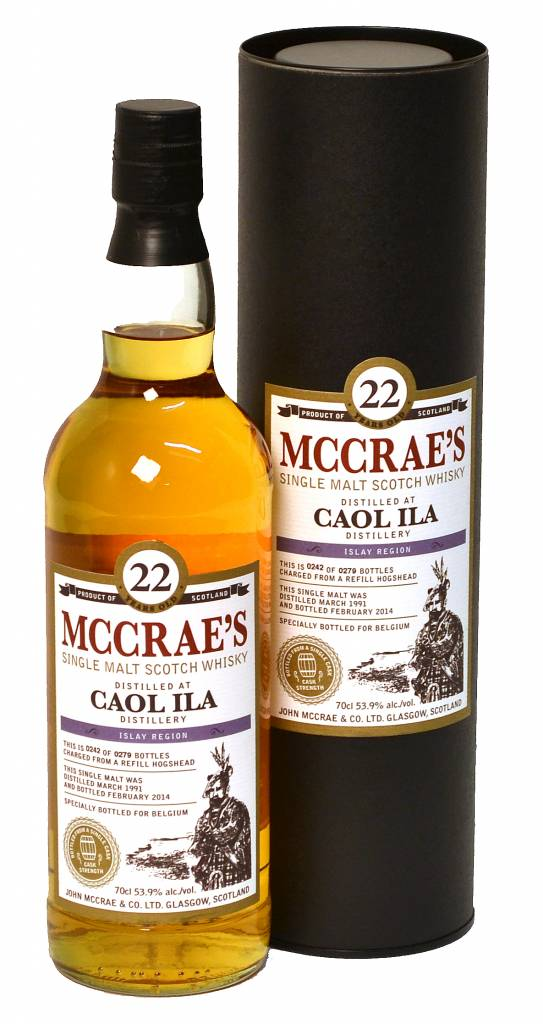 Littlemill Whisky McCrae's 26 years, Lowlands, Groot-Brittanië, Distillaat