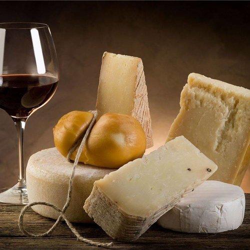 Wijn bij kazen