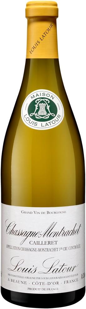 Maison Louis Latour Chassagne Montrachet Caillerets, 2014, Witte wijn