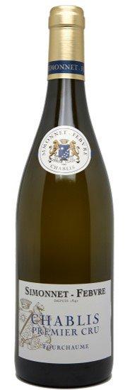 Simonnet Febvre Chablis Premier Cru Fourchaume, 2014, Chardonnay, Bourgogne, Fra