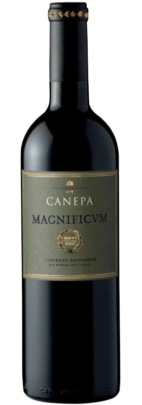Vina Canepa Magnificum Cabernet Sauvignon, 2011, Chili, Rode