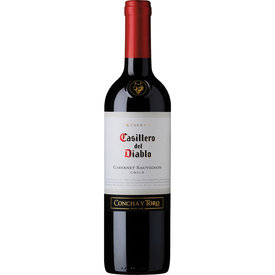Casillero del Diablo Cabernet Sauvignon, Central Valley, Chili, Rode Wijn