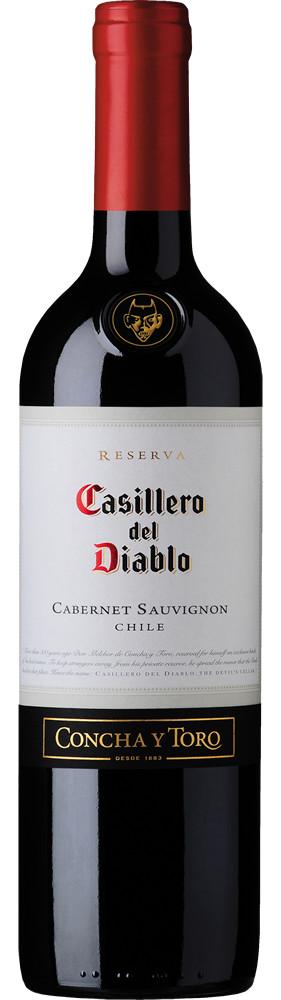 Casillero del Diablo Cabernet Sauvignon, Central Valley, Chili, Rode Wijn