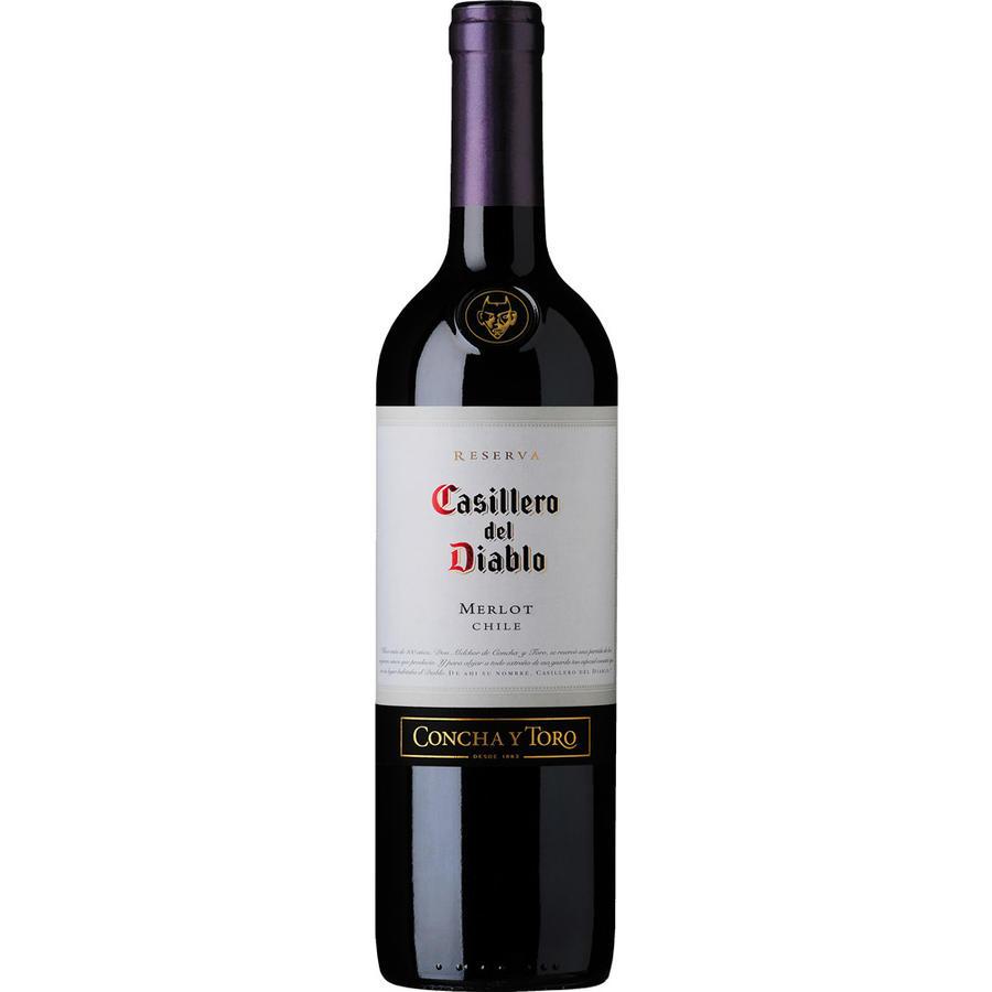 Casillero del Diablo, Merlot, 2014, Central Valley, Chili, Rode Wijn