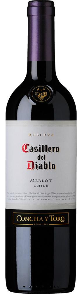 Casillero del Diablo Merlot, Central Valley, Chili, Rode Wijn