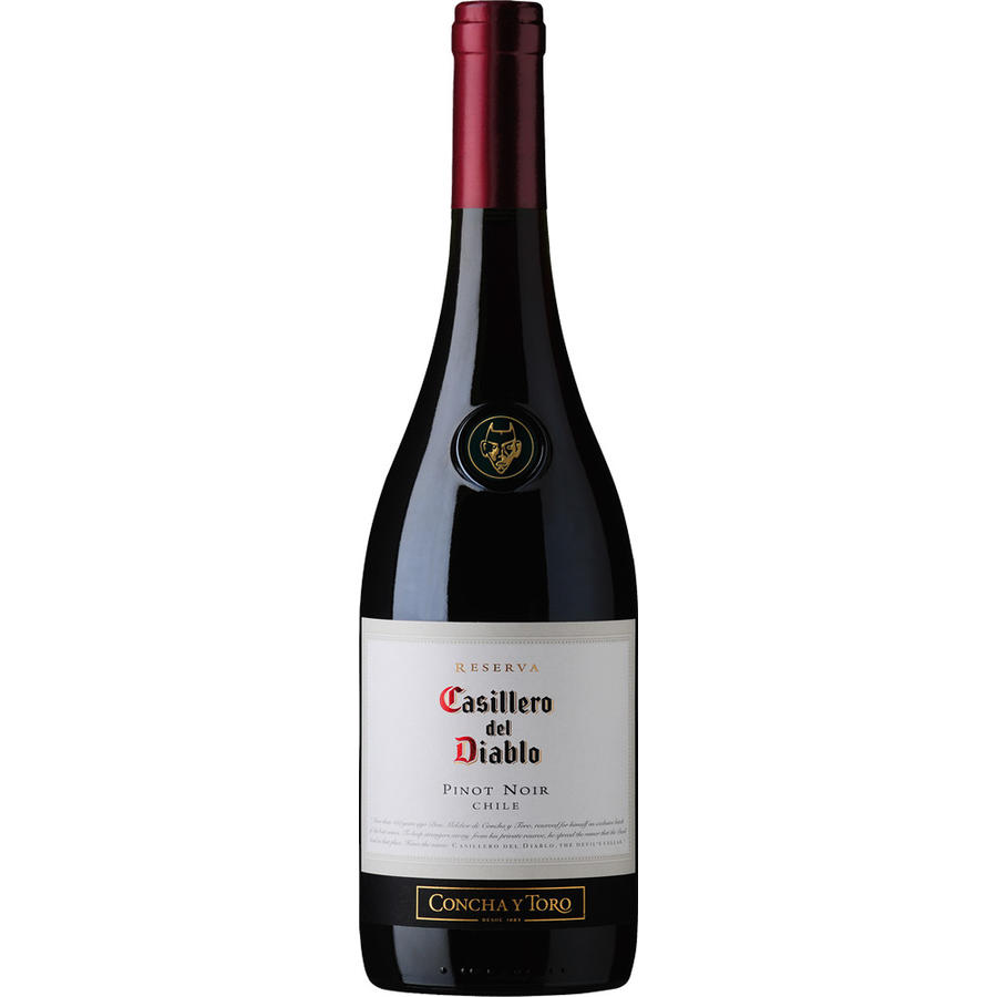 Pinot Noir, le Chili, Vin rouge