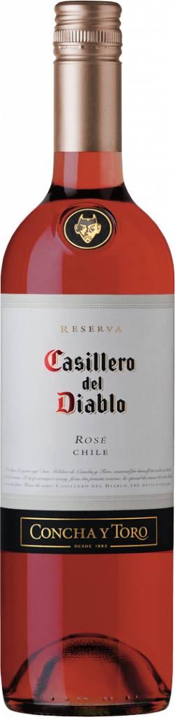Casillero del Diablo Shiraz Rosé,2016, Central Valley, Chili, Rosé Wijn