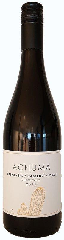 Achuma Carmenère Cabernet Syrah, 2015, Central Valley, Chili, Rode Wijn
