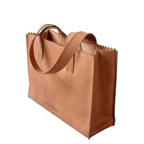 My Paper Bag Handbag blond met rits