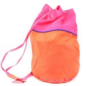 GLOBAL AFFAIRS zwemtas oranje/roze
