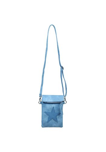 FLIP TOP STAR BAG blauw