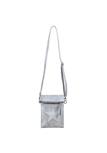 FLIP TOP STAR BAG grijs