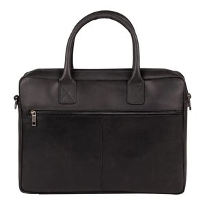 BURKELY Vintage Taylor Worker laptoptas 15,6 inch zwart