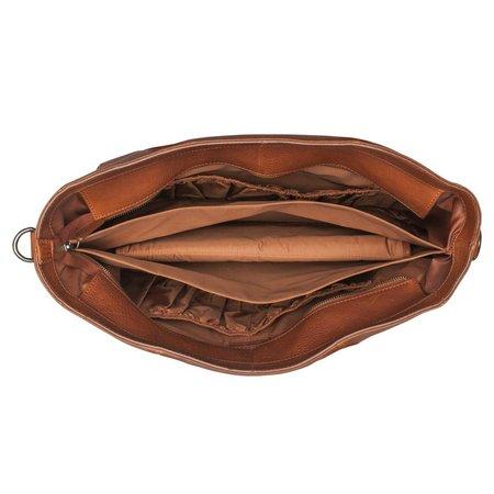 BURKELY Antique Avery diaperbag cognac