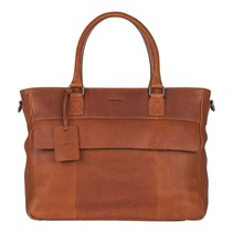 Antique Avery diaperbag cognac