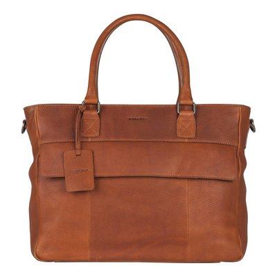 BURKELY Antique Avery diaperbag cognac