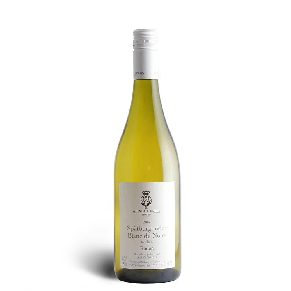 Weingut Krebs Spätburgunder Blanc de Noirs trocken 2016 - Weingut Krebs