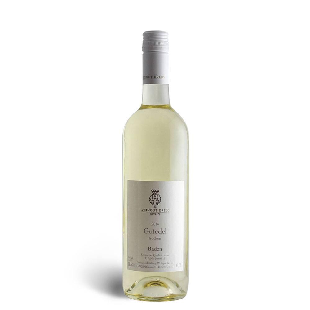 Weingut Krebs Gutedel, trocken 2015er - Weingut Krebs