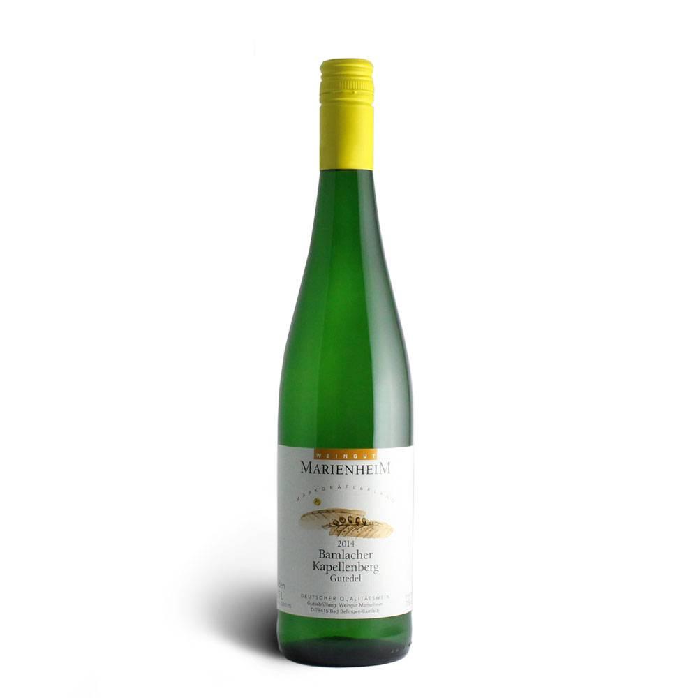 Weingut Marienheim Gutedel Qualitätswein mild 2014 - Weingut Marienheim