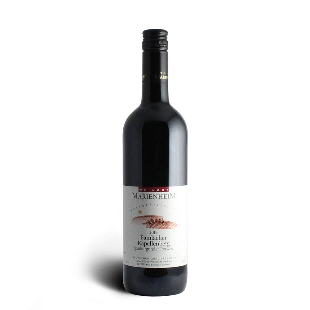 Weingut Marienheim Spätburgunder Rotwein Qualitätswein mild 2013 - Weingut Marienheim