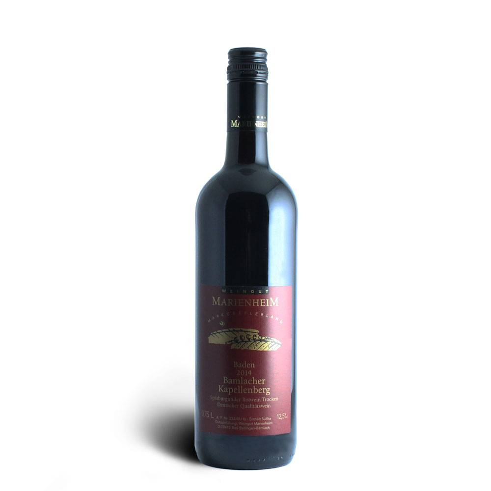 Weingut Marienheim Spätburgunder Rotwein Qualitätswein trocken 2014 - Weingut Marienheim