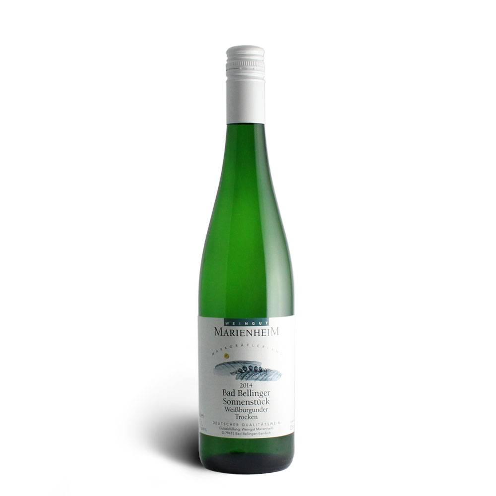 Weingut Marienheim Weißburgunder trocken 2014 QbA - Weingut Marienheim