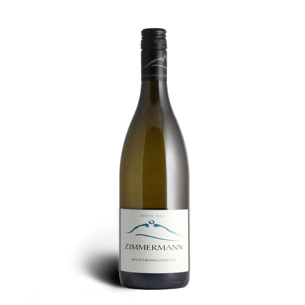 Weingut Zimmermann Weißburgunder Rhine Hill QbA trocken 2015 Markgräfler Wein - Weingut Zimmermann