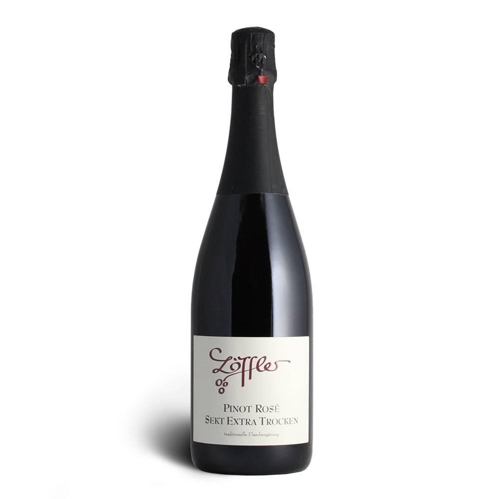 Weingut Löffler Pinot Rosé Winzersekt extra trocken - Weingut Löffler