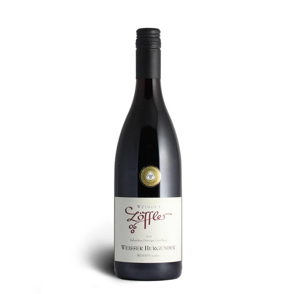 Weingut Löffler 2014 Weißer Burgunder Réserve trocken - Weingut Löffler