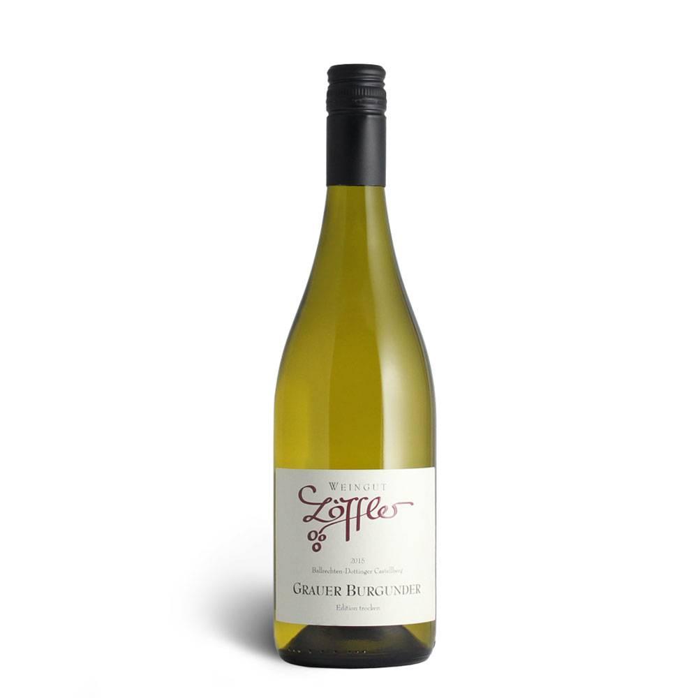 Weingut Löffler 2015 Grauer Burgunder Edition trocken - Weingut Löffler
