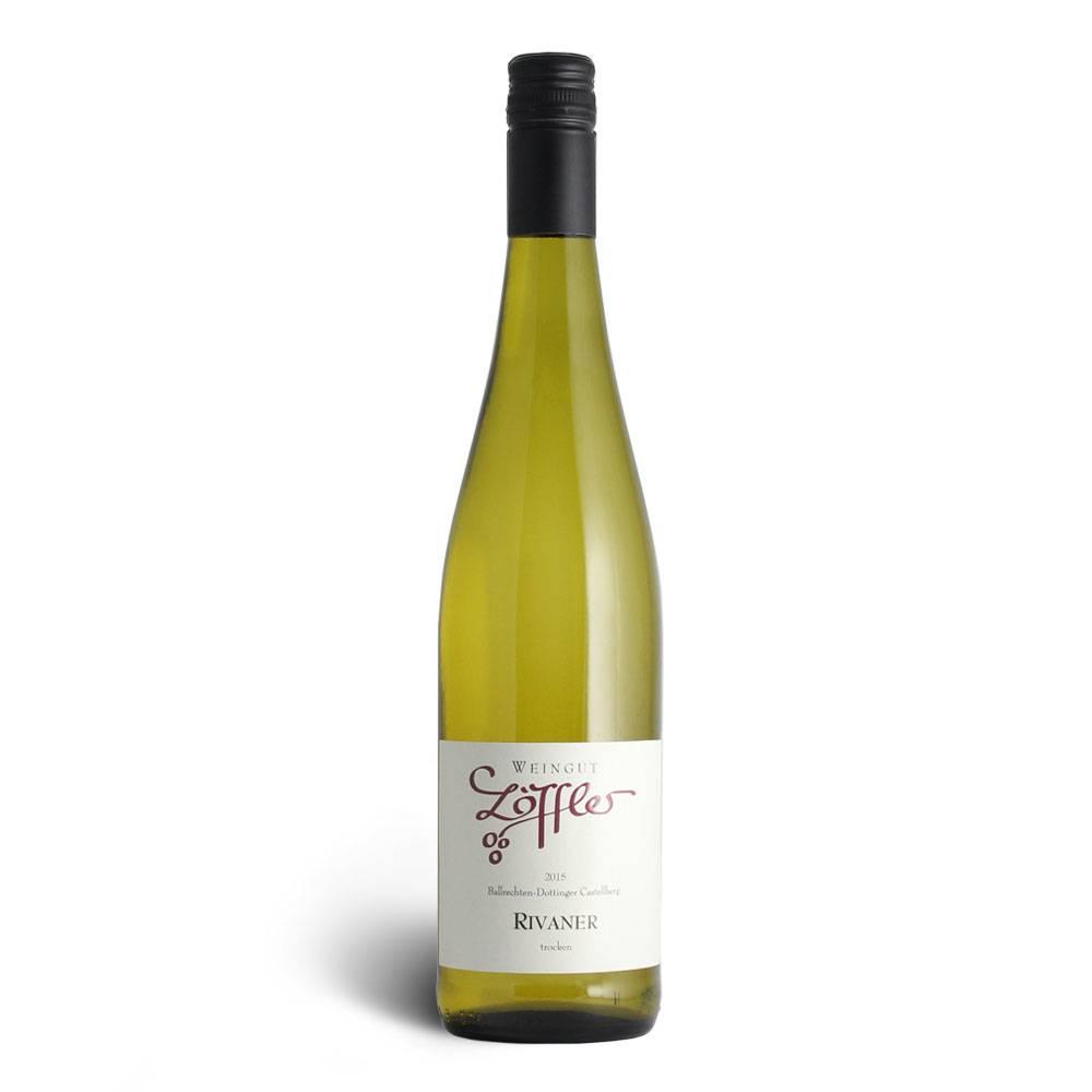 Weingut Löffler Rivaner (Müller Thurgau)  Qualitätswein trocken 2016 - Weingut Löffler
