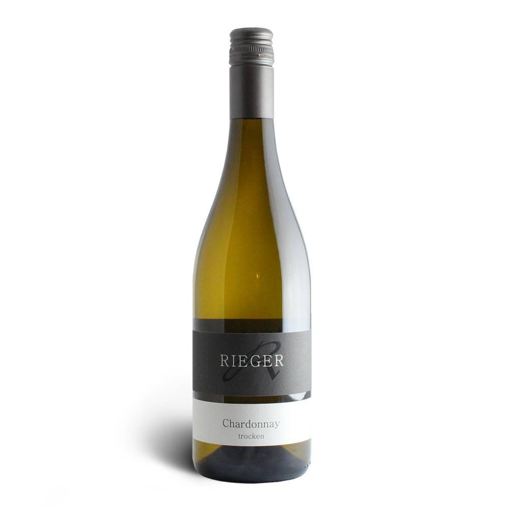 Weingut Rieger Chardonnay trocken 2017– Weingut Rieger