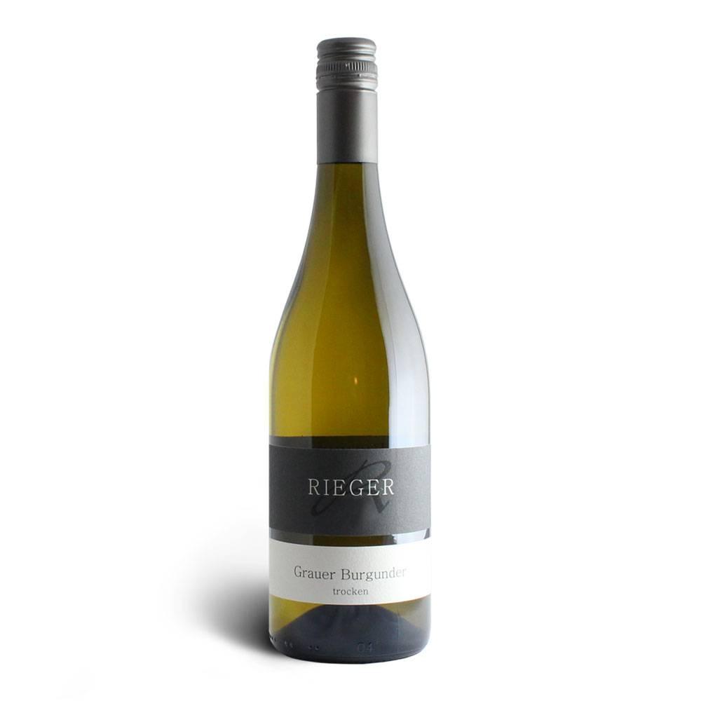 Weingut Rieger Grauer Burgunder – Weingut Rieger