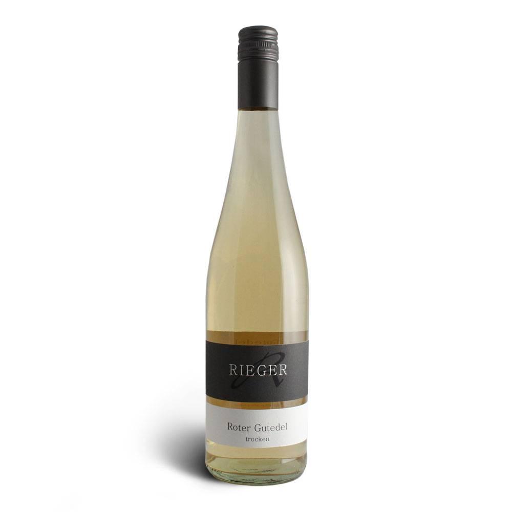 Weingut Rieger Roter Gutedel weiß gekeltert – Weingut Rieger