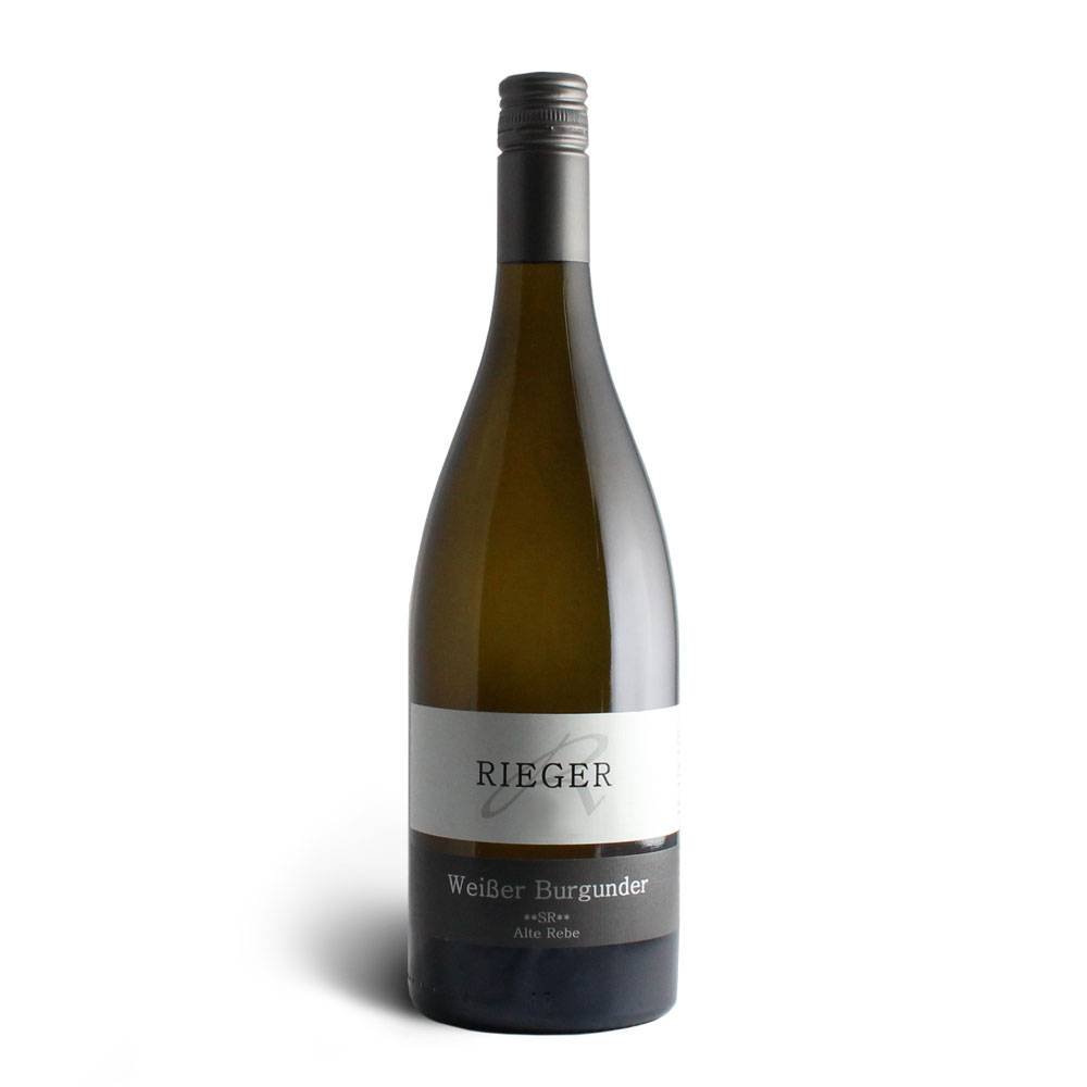 Weingut Rieger Weißer Burgunder **SR** Alte Rebe – Weingut Rieger